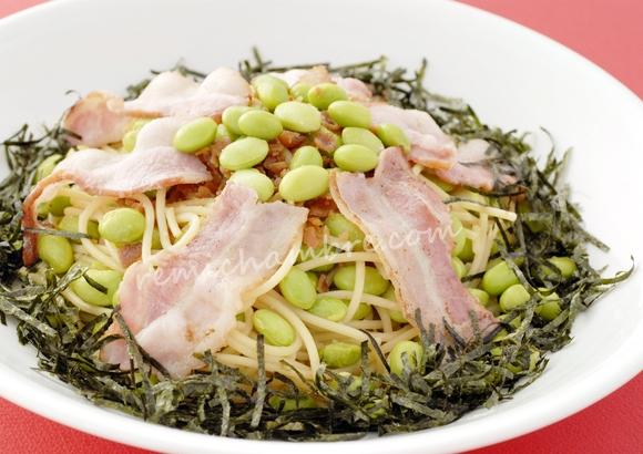 枝豆パスタ