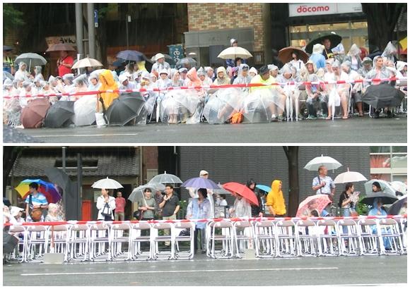 京都 祇園祭 観覧席