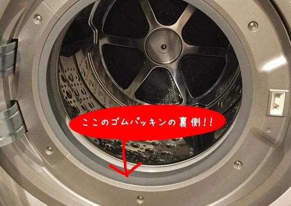 ドラム式洗濯機 カビ 掃除
