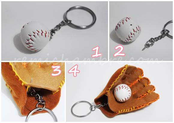 野球お守り グローブの作り方