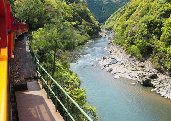京都 嵐山 トロッコ 予約