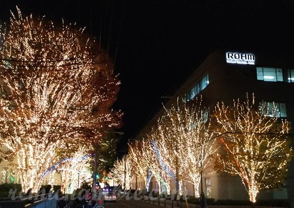 京都 ローム イルミネーション