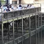 京都 鴨川の川床カフェ