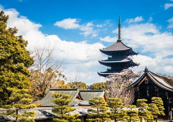 京都 東寺の五重塔や立体曼荼羅などの見所