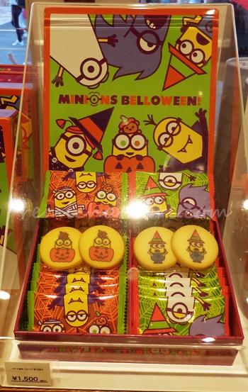 ユニバのハロウィン限定お菓子 ミニオンズ!