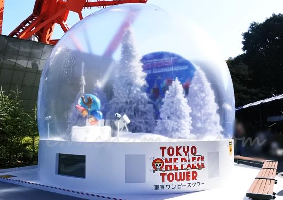 東京タワーのワンピース イルミネーション(ライトアップ)