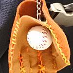 野球 グローブ キーホルダー