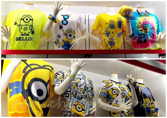 USJミニオンパークのお土産にしたいTシャツと値段は?