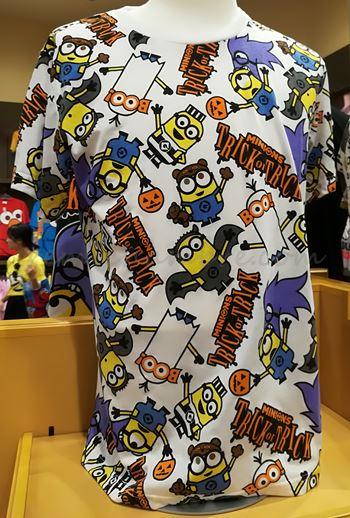 ユニバのハロウィンTシャツ2017年バージョン ミニオン